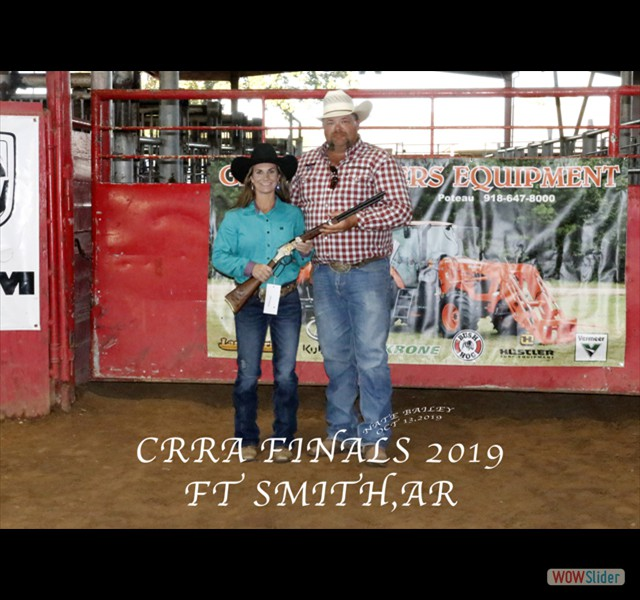 CRRA FINALS 2019 HENRY RIFLE WINNER